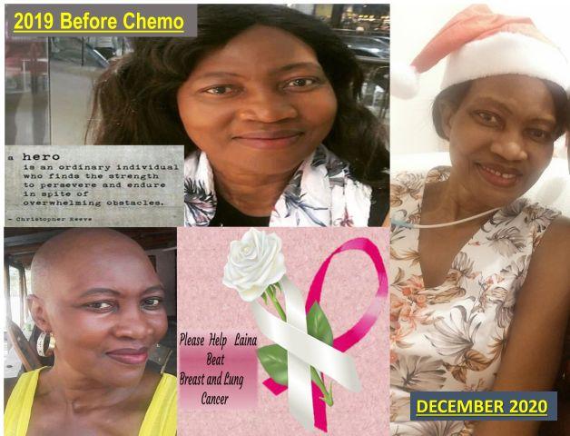 PLEASE HELP LAINA BEAT CANCER